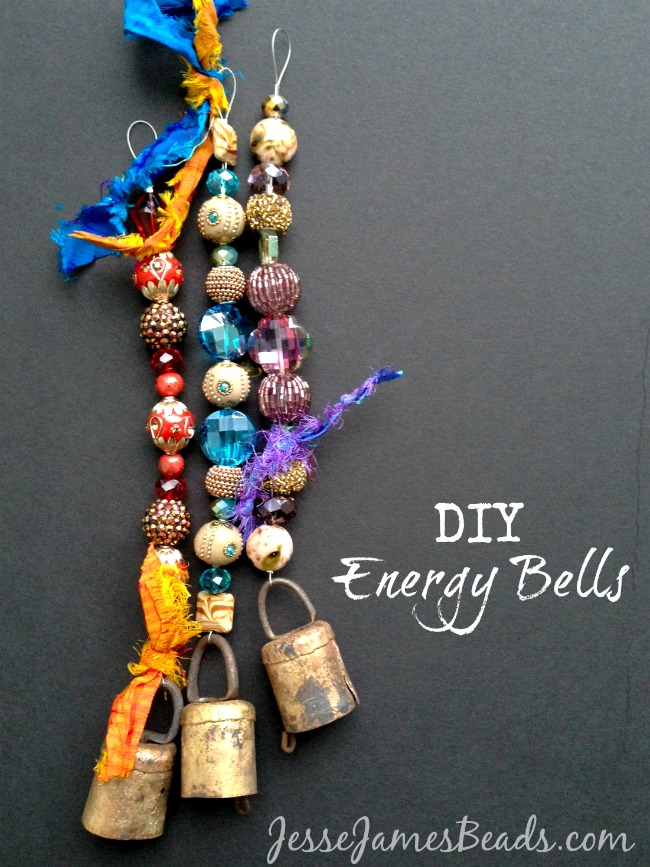 DIY Energy Bells from Jesse James Beads