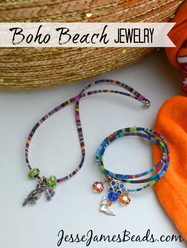 Boho Beach Jewelry from Jesse James Beads