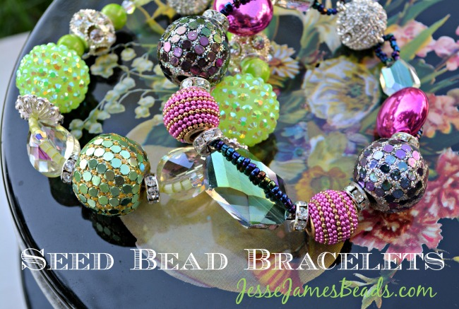 DIY Jewelry Making  Seed Bead Bracelets