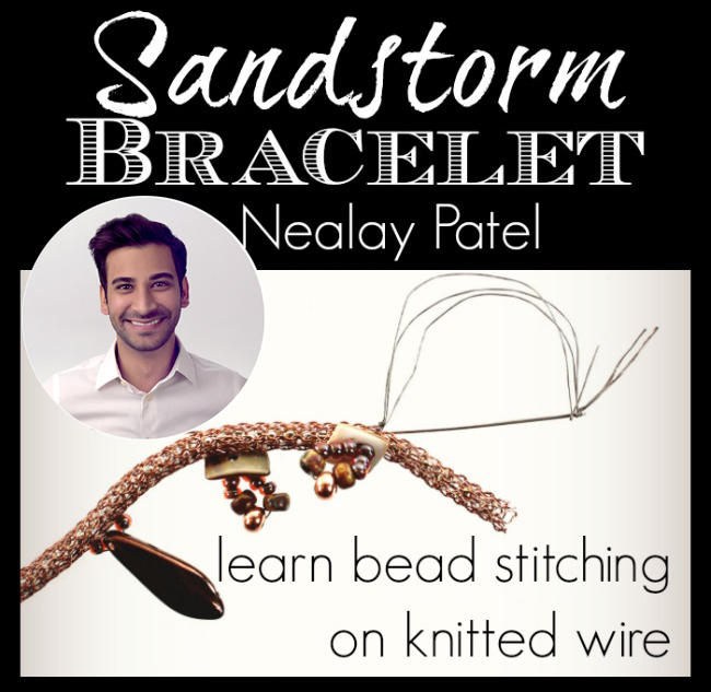 Learn Bead Stitching with Nealay Patel_ and Jesse James Beads