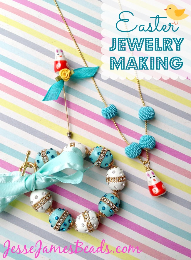 Hop to It! Easter Jewelry Ideas
