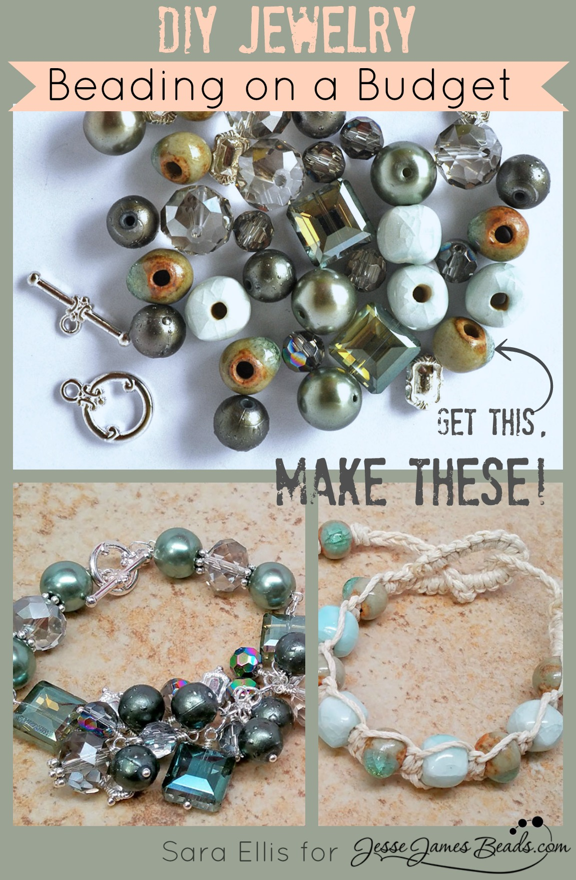 Beading on a Budget – Two Projects for the Price of One