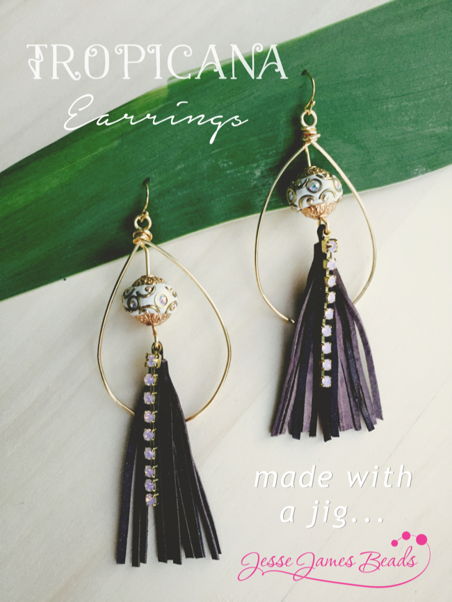 Get Jiggy With It and Make Wire Hoop Earrings